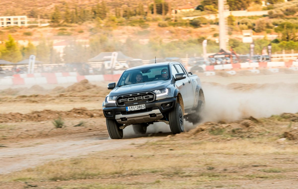 Ford Ranger Raptor: Έκλεψε τα βλέμματα στο 2ο Off Road Adventure Festival