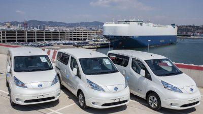 Τα αμιγώς ηλεκτροκίνητα Nissan e-NV200 Evalia και Nissan LEAF στην 84η Διεθνή Έκθεση Θεσσαλονίκης