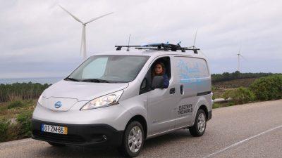 """Η Nissan """"βάζει στην πρίζα"""" μια νέα γενιά επιχειρηματιών με το αμιγώς ηλεκτρικό e-NV200 (video)"""
