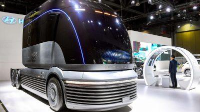 ΗHyundaiMotorπαρουσίασε το φορτηγό υδρογόνου που θα βγει στους δρόμους!