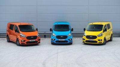 Tα…αγωνιστικά Transit της Ford έρχονται τον Σεπτέμβρη!