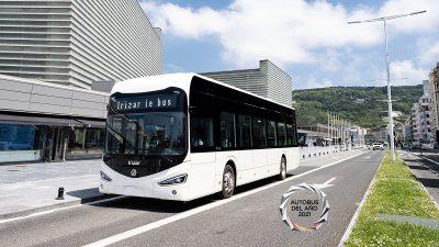 Το ΛεωφορείοIrizarieκερδίζει το βραβείο Λεωφορείο της Χρονιάς 2021