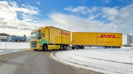 Η DHL Freight και η Volvo Trucks συνεργάστηκαν για το καλό του περιβάλλοντος